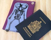 Siamese Twins Vegan Passport Travel Wallet