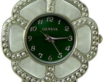 Flower Shaped Solid Bar Watch Face for Interchangeable Bracelet Watch