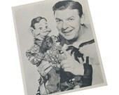 The Howdy Doody Show Buffalo Bob Smith Collectible Publicity Photo