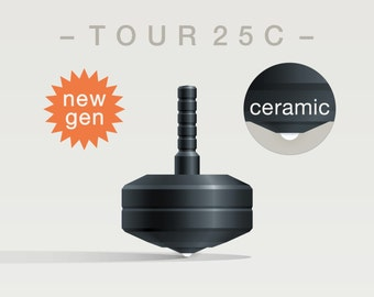 TOUR 25C Spin Top with ceramic tip
