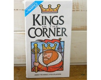 "Vintage ""Kings In The Corner"" Game - 1996 - New Unopened Sealed Box"