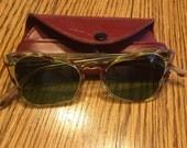 Vintage Italian Sunglasses - 1940's/1950's. PRICE REDUCED!