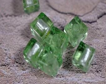Murano style glass beads, 8mm, #0002