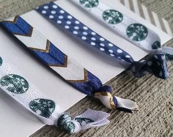 The Hair Ties. Yoga Bands - FOE Style. - Set of Four I Love Starbucks