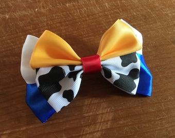 Disney Inspired Jessie Cowgirl (Toy Story) Hair Bow