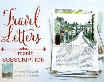 TRAVEL LETTERS: One letter
