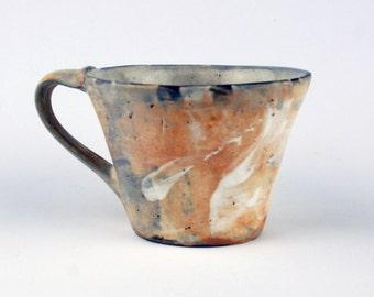 Large Mug with Orange Slip