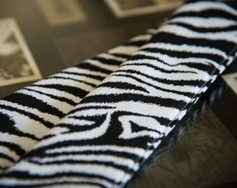 DSLR Camera Strap Cover in Zebra Print