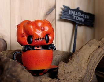 Custom Vinyl Mini Tea - Pumpkin
