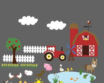 farm decal set