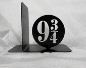 9 3/4, Single Metal Bookend, Dumbledore, Harry Potter, Movies, Books, Organizer, Metal Art, Shelf Decor