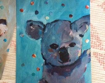 Little Koala : Art Print