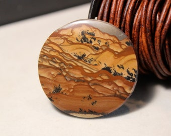 Large Deschutes Jasper - Top Shelf Collector Cabochon - super nice material, destash from my collection