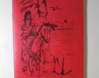 Vintage Art & Poetry Book from Riverside High School 1987 Greer, South Carolina