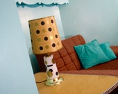 60s Polka Dot Table Lamp