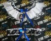 Star Trek Wedding Garter Set
