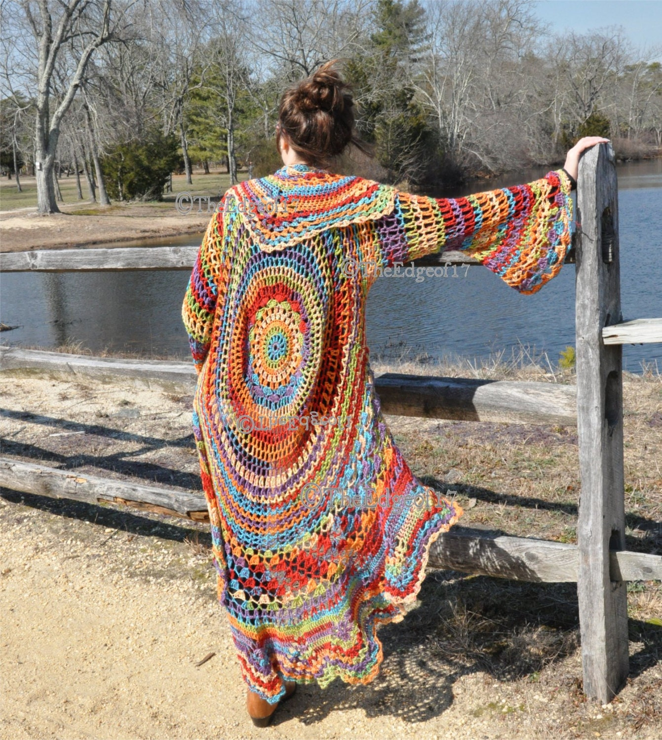 Bohemian Hippie Sweater Crochet Pattern Gypsy That Remains