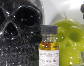 Pay Oil Wicca Pagan Spirituality Religion Ceremonies Hoodoo Metaphysical MaidenMotherCrone