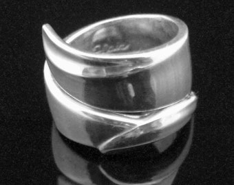 Spoon Ring, Silver Spoon Jewelry, Flair