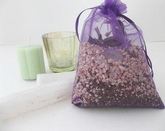 Money Intention MoJo Bag | Manifesting Sachet Bag | Prosperity Herb Bag | Aromatherapy Beads | Aroma Sachets | Natural Curio | Amulet Bags