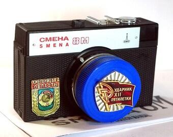 Red Star LOMO Compact SMENA-8M Camera in box