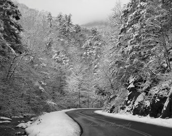 Appalachian Postcard Pack Mountain Roads Trees Winter Landscapes Country