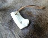 Deer Antler Bow Drill Bearing Block