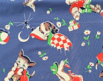 One Dogs Night American Folk & Fabric Vintage Collection fabric FQ or more *WASHED*