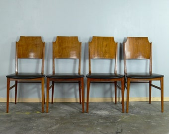 Paul McCobb Dining // Side Chair Delineator Series for Lane Furniture (Set of 4)