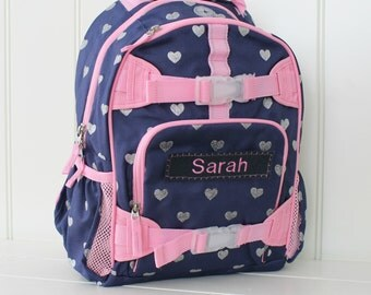 Personalized Kids Backpack Upcycled Pottery Barn Large Size