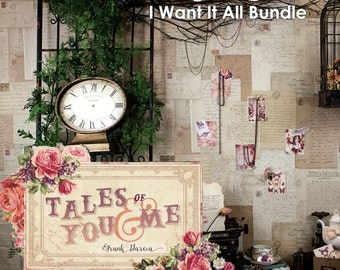 Prima Marketing Tales of You & Me I Want It ALL Bundle