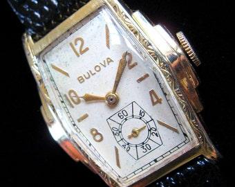 1936 Bulova Clipper - Nice Art Deco Styling