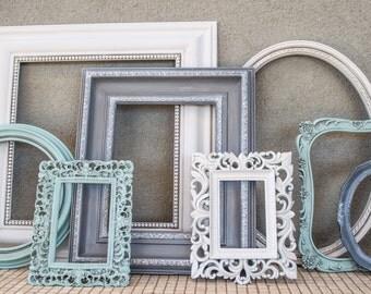 Open Frames for Frame Gallery Set of Eight Wall Arrangement