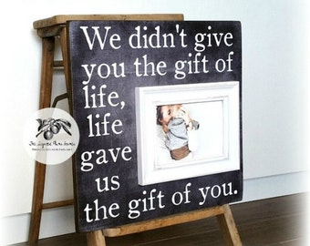 Adoption Gifts, Adoption Signs, Gotcha Day Gift, Personalized Adoption Gift, Adoption Wall Art, Custom Adoption Gift 16x16 The Sugared Plums