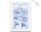 Vintage Bicycle Patent Art Giclee on archival matte paper