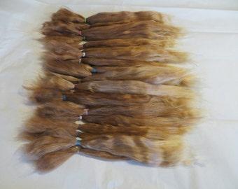Blythe / BJD / MSD / Combed Doll Hair / Re root / Combed Suri Alpaca / Wig    (76)