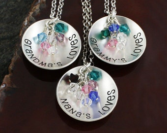 Grandma's Cup of Love Necklace - Sterling Silver