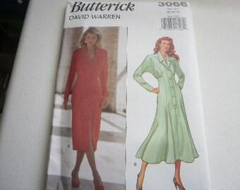 Pattern Vintage 1993 Petite Ladies Dress 2 Styles Sizes 6 to 10 Butterick V-3066