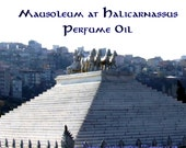 Mausoleum at Halicarnassus Perfume Oil - Neroli Attar, Champaka, Narcissus, Vanilla Bean - Ancient Perfume - Seven Wonders Collection