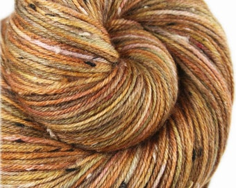 PIETA ALCOVE - Superwash Merino/Nylon Hand-dyed Variegated Tweed Fingering/Sock Yarn