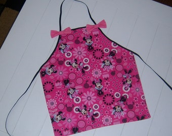 Little Girl's Minnie Mouse Apron