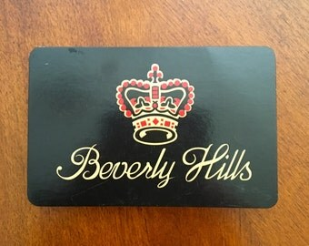 Vintage Beverly Hills Playing Cards