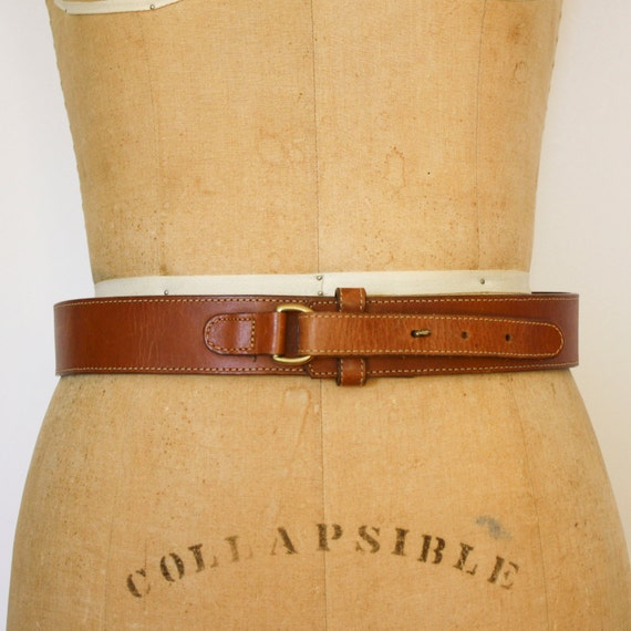 buckless leather belt 28 made in usa