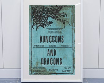 Dungeons & Dragons Book Cover Recreation