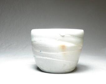 Soda Fired Porcelain Teacup. Ice Cream Bowl. Desert cup
