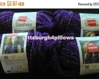 Save 10% 4 - Sashay - Red Heart - Boutique - 3.5 Ozs. - 30 Yds. - Purple - 1560 - Never Used - Price Is For 1