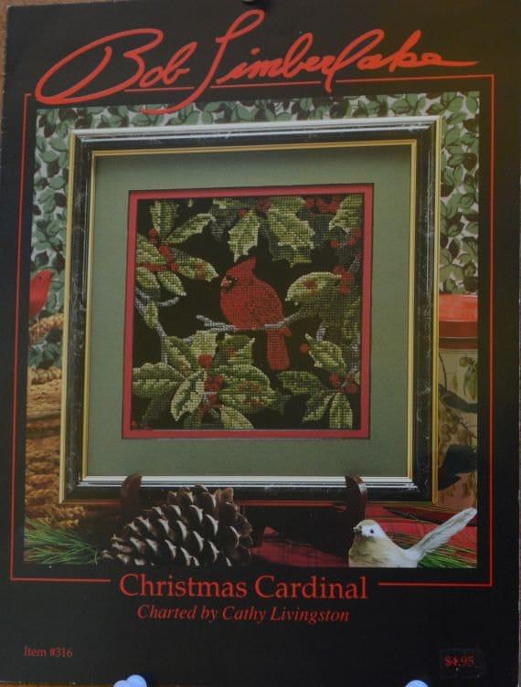 Christmas Cardinal By Cathy Livingston