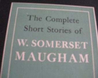 The Complete Short Stories of W. Somerset Maugham  Two Volume Set hardcovers in slipcase