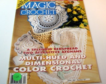 Magic Crochet Pattern book from April 1997 - Number 107.