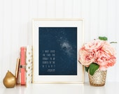 Stars / I Have Loved the Stars Too Fondly / 8x10 Print